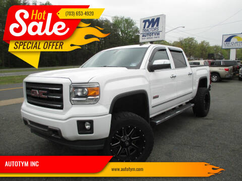 2014 GMC Sierra 1500 for sale at AUTOTYM INC in Fredericksburg VA