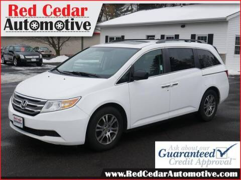 2013 Honda Odyssey for sale at Red Cedar Automotive in Menomonie WI