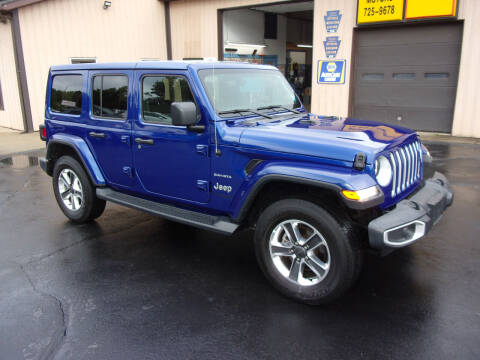 2020 Jeep Wrangler Unlimited for sale at Dave Thornton North East Motors in North East PA
