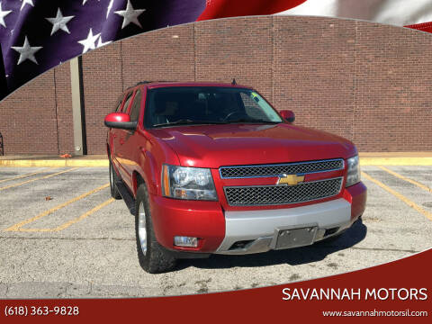 2012 Chevrolet Suburban for sale at Savannah Motors in Cahokia IL