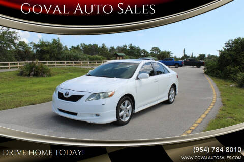 2007 Toyota Camry for sale at Goval Auto Sales in Pompano Beach FL