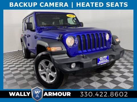2019 Jeep Wrangler Unlimited for sale at Wally Armour Chrysler Dodge Jeep Ram in Alliance OH