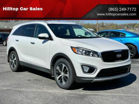 2016 Kia Sorento for sale at Hilltop Car Sales in Knox TN