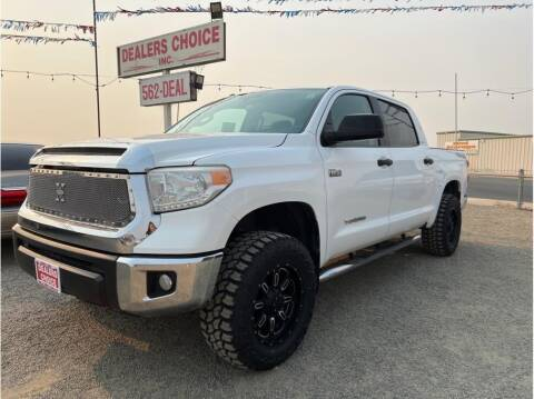 2016 Toyota Tundra for sale at Dealers Choice Inc in Farmersville CA