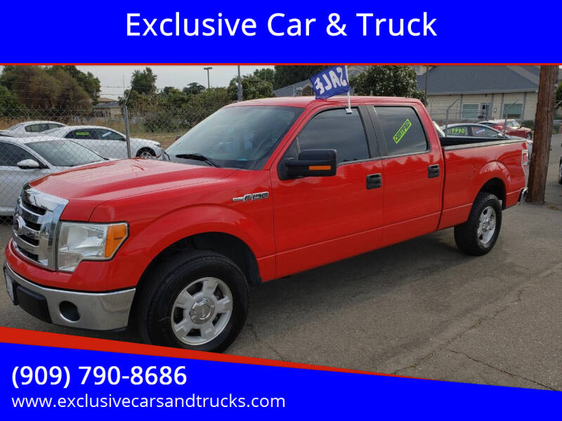 2012 Ford F-150 for sale at Exclusive Car & Truck in Yucaipa CA