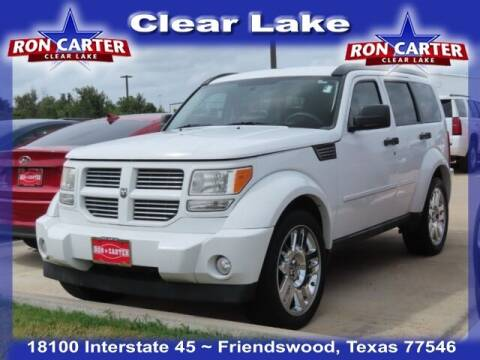 2011 Dodge Nitro for sale at Ron Carter  Clear Lake Used Cars in Houston TX