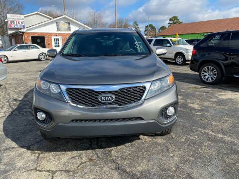 2012 Kia Sorento for sale at L&M Auto Import in Gastonia NC