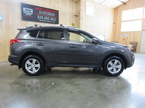 2013 Toyota RAV4 for sale at Boone NC Jeeps-High Country Auto Sales in Boone NC