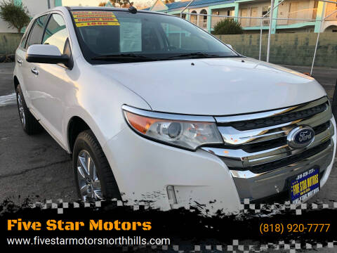 2011 Ford Edge for sale at Five Star Motors in North Hills CA