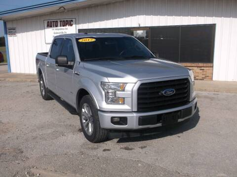 2017 Ford F-150 for sale at AUTO TOPIC in Gainesville TX