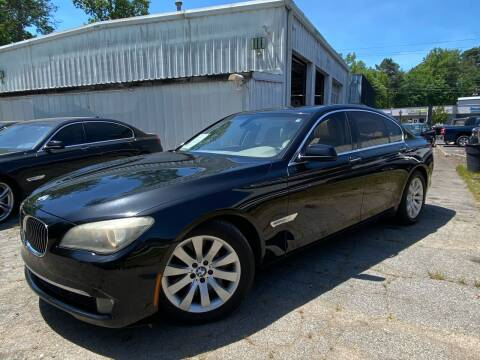 2010 BMW 7 Series for sale at Car Online in Roswell GA