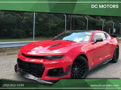 2016 Chevrolet Camaro for sale at DC Motors in Springfield VA