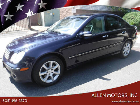 2007 Mercedes-Benz C-Class for sale at Allen Motors, Inc. in Thousand Oaks CA
