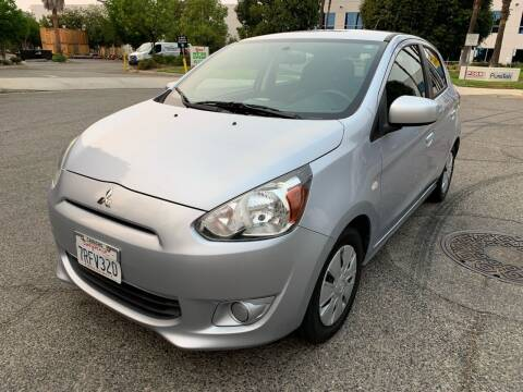 2015 Mitsubishi Mirage for sale at Trade In Auto Sales in Van Nuys CA