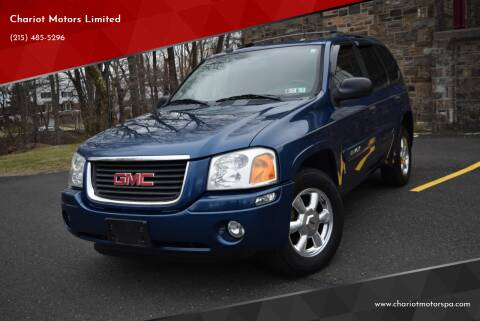 2005 GMC Envoy for sale at Chariot Motors Limited in Feasterville Trevose PA