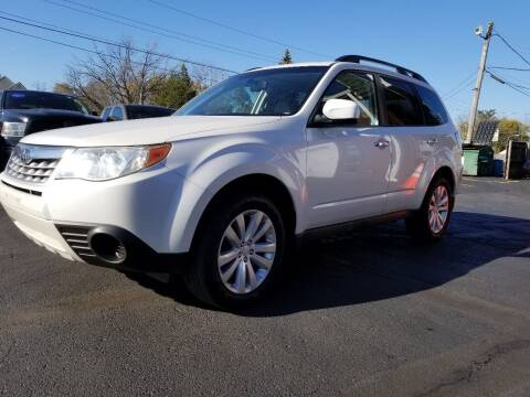 2012 Subaru Forester for sale at DALE'S AUTO INC in Mount Clemens MI