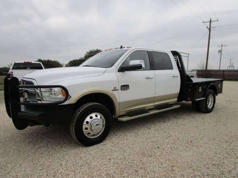 2014 RAM Ram Pickup 3500 for sale at MCKAIN MOTORS in Valley Mills TX