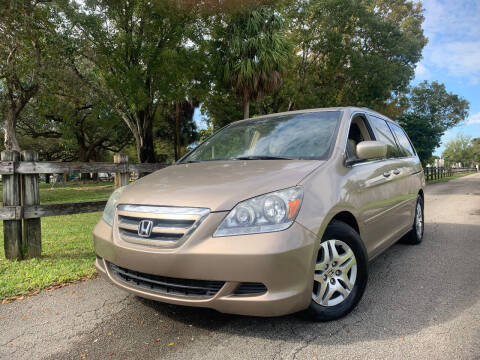 2006 Honda Odyssey for sale at LESS PRICE AUTO BROKER in Hollywood FL
