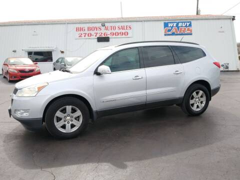 2009 Chevrolet Traverse for sale at Big Boys Auto Sales in Russellville KY