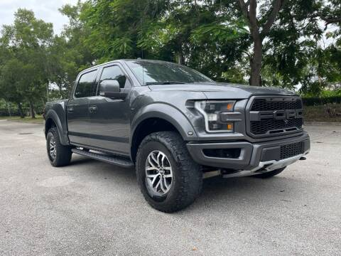 2018 Ford F-150 for sale at DELRAY AUTO MALL in Delray Beach FL