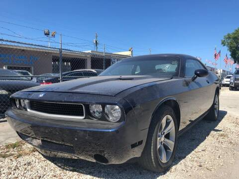 2012 Dodge Challenger for sale at Eden Cars Inc in Hollywood FL