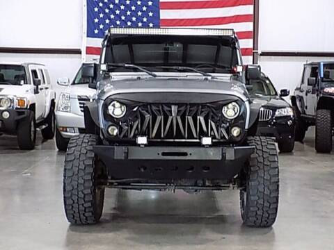 2017 Jeep Wrangler Unlimited for sale at Texas Motor Sport in Houston TX