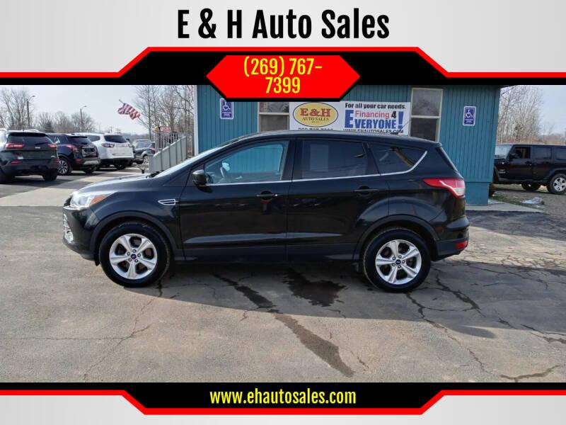 2015 Ford Escape for sale at E & H Auto Sales in South Haven MI