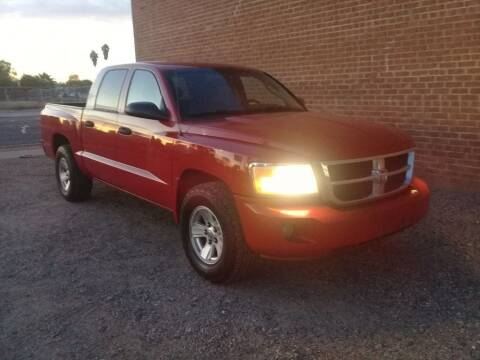 2008 Dodge Dakota for sale at Dreamline Motors in Coolidge AZ