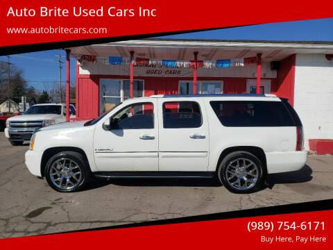 2008 GMC Yukon XL for sale at Auto Brite Used Cars Inc in Saginaw MI