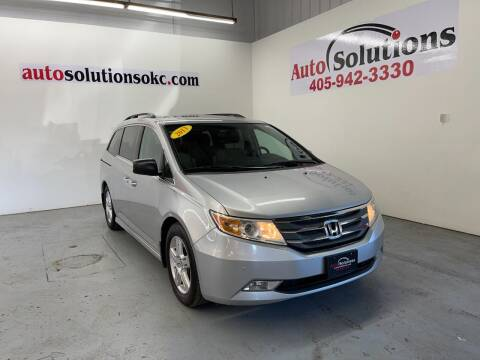 2013 Honda Odyssey for sale at Auto Solutions in Warr Acres OK