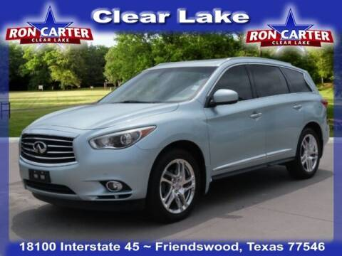 2013 Infiniti JX35 for sale at Ron Carter  Clear Lake Used Cars in Houston TX