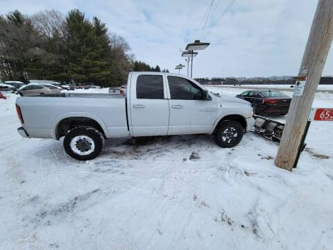 2005 Dodge Ram Pickup 1500 for sale at SCENIC SALES LLC in Arena WI