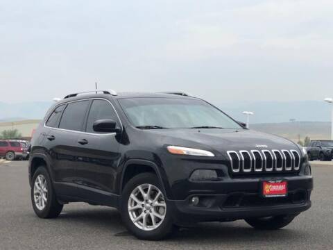 2017 Jeep Cherokee for sale at Rocky Mountain Commercial Trucks in Casper WY