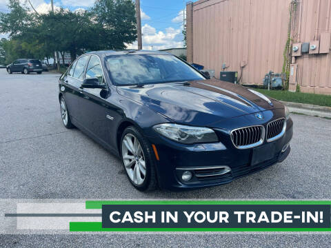2016 BMW 5 Series for sale at Horizon Auto Sales in Raleigh NC