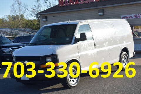 2014 Chevrolet Express Cargo for sale at MANASSAS AUTO TRUCK in Manassas VA