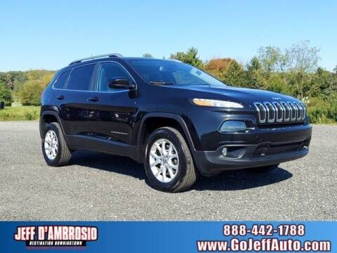 2014 Jeep Cherokee for sale at Jeff D'Ambrosio Auto Group in Downingtown PA