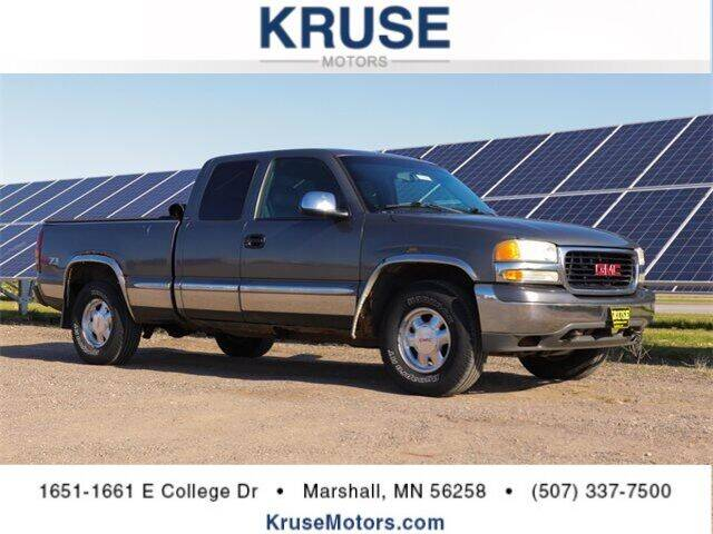 2001 GMC Sierra 1500 for sale in Marshall, MN
