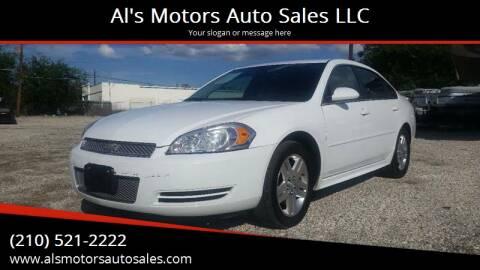 2012 Chevrolet Impala for sale at Al's Motors Auto Sales LLC in San Antonio TX