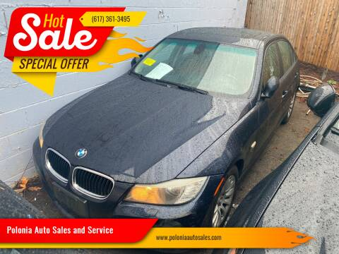 2009 BMW 3 Series for sale at Polonia Auto Sales and Service in Hyde Park MA