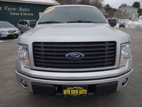 2014 Ford F-150 for sale at MOUNTAIN VIEW AUTO in Lyndonville VT