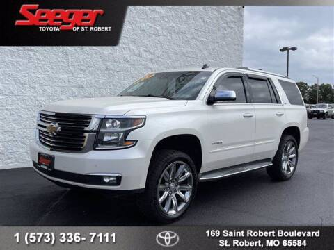 2015 Chevrolet Tahoe for sale at SEEGER TOYOTA OF ST ROBERT in Saint Robert MO