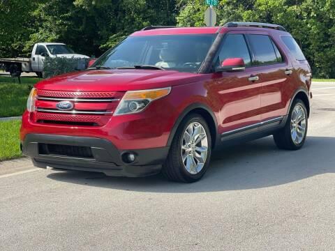 2012 Ford Explorer for sale at L G AUTO SALES in Boynton Beach FL