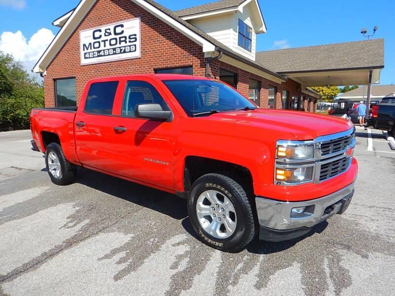 2014 Chevrolet Silverado 1500 for sale at C & C MOTORS in Chattanooga TN