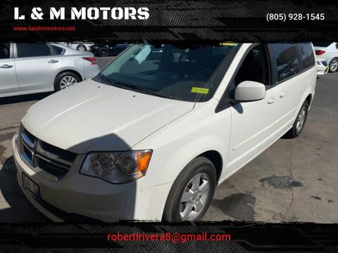 2012 Dodge Grand Caravan for sale at L & M MOTORS in Santa Maria CA