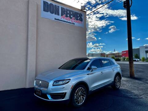2019 Lincoln Nautilus for sale at Don Reeves Auto Center in Farmington NM