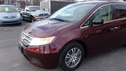2013 Honda Odyssey for sale at Eagle's Wings Auto Sales in Hilton NY
