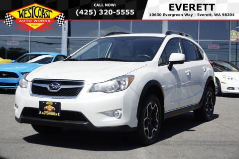 2013 Subaru XV Crosstrek for sale at West Coast Auto Works in Edmonds WA