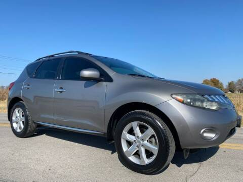 2009 Nissan Murano for sale at ILUVCHEAPCARS.COM in Tulsa OK