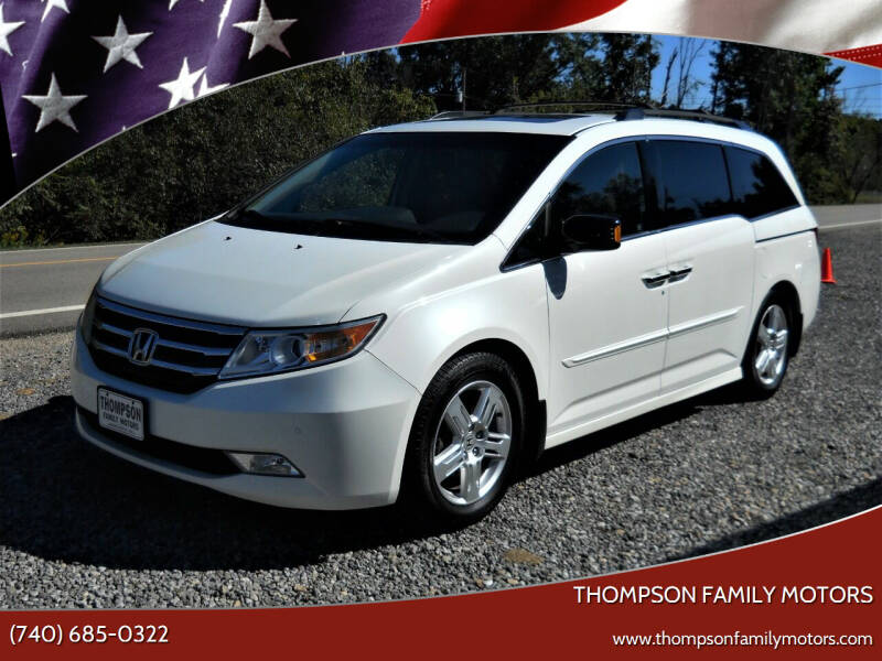 2012 Honda Odyssey for sale at THOMPSON FAMILY MOTORS in Senecaville OH