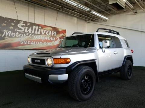 2008 Toyota FJ Cruiser for sale at SULLIVAN MOTOR COMPANY INC. in Mesa AZ